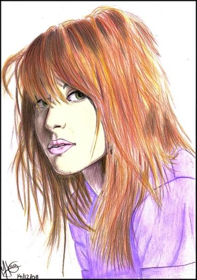 Hayley Williams by PokeyArt